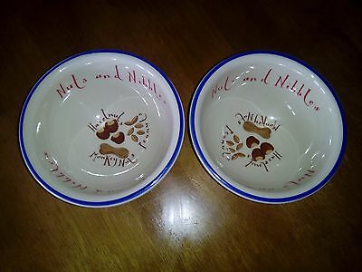 2 x T.G. GREEN CLOVERLEAF NUTS & NIBBLES 5in / 13cm BOWLS