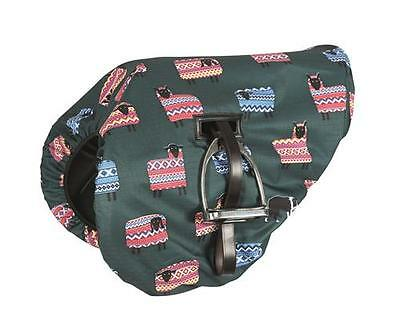 NEW Shires Waterproof Ride On Horse Saddle Cover Chicken, Dog, Sheep, Fox Print