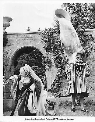Carry On Henry Viii -Barbara Windsor- Rare 1972 Usa Black And White Movie Still