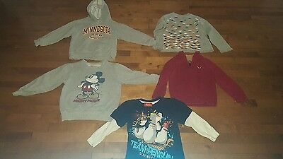mixed lot of boys shirts size 4/5