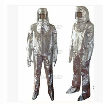 Heat Resistant Aluminized Suit Thermal Radiation Good Quality Fireproof Clothe N