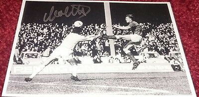 Colin Stein signed Rangers photo / 1972 / European cup winners cup COA
