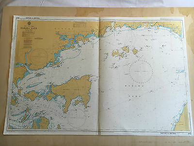 Large Admiralty Chart Office Map of Japan Harima Nada Naval Map 1994