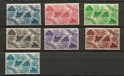 Set of mint/hinged stamps from Djibouti (D1)