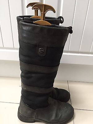 Ladies/Girls Dublin River riding boots size 4