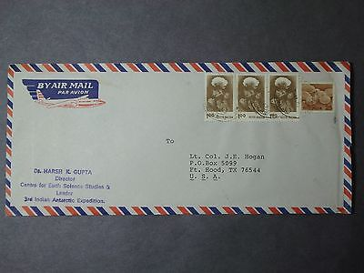 India Antarctic Cover 3rd Indian Antarctic Expedition, 1983-84