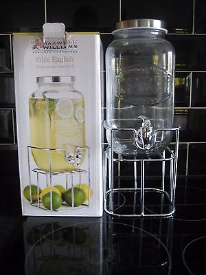 Olde English Juice Jar & Stand 3.5L, Maxwell & Williams, Container With Tap