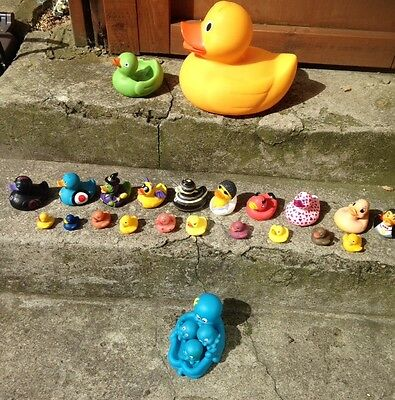 Big Rubber Duck Collection (26 toys)