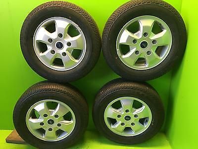 "FORD TRANSIT CUSTOM  Alloy wheels with Conti Tyres 16"" delivery miles only! 2016"