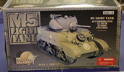 AMERICAN M5 LIGHT TANK WW11 21ST SOLDIER 1/6 12''  BOXED  DID dragon cyber toy