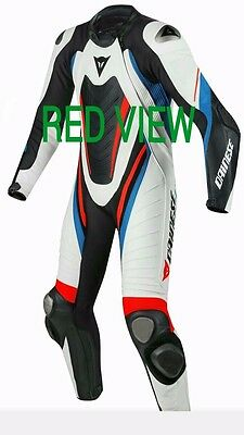 Dainese Replica Motorcycle Motorbike Racing Motogp Leather replica Suit