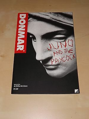 Donmar Theatre Programme for Juno and the Paycock