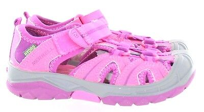 Merrell Girls Hydro Water Sandal Shoe Hook and Loop Pink Toddler Size 8 M US