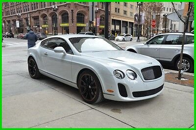 2011 Bentley Continental GT 2011 Super Sports ICE/BLK rudy@7734073227 2011 Used Turbo 6L W12 48V Automatic AWD