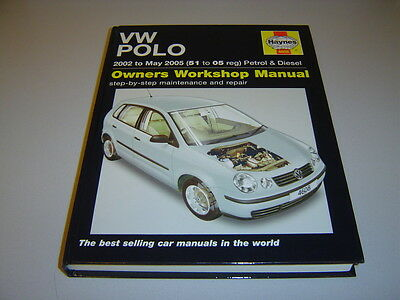 VOLKSWAGEN POLO HAYNES MANUAL 2002-May 2005 PETROL & TURBO-DIESEL (inc. PD TDi)