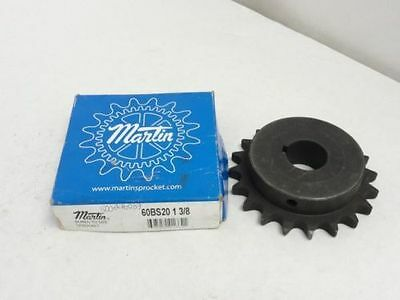 New In Box, Martin 60BS20 1 3/8 Bored To Size Sprocket