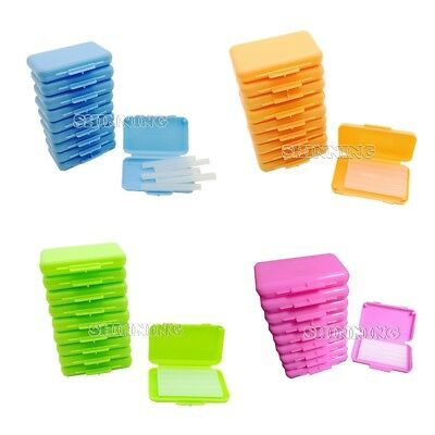10Boxes Dental Wax Orthodontic Wax Brace Wax For Braces Gum Irritation