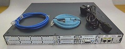 CISCO2811 with WIC-1T. 256/64MB. CCNA CCNP CCIE .FREE SHIPPING-30 DAY WARRANTY.
