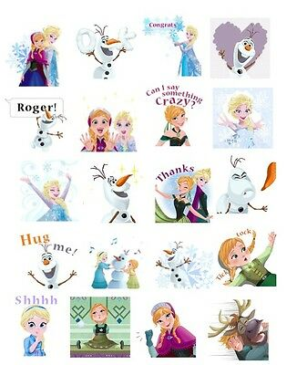 Frozen  stickers_Set of 4 sheets  (Buy 2 sets get 1 set FREE)
