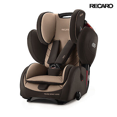 2016 Recaro Germany Young Sport Hero Dakar Sand Child Seat (9-36 kg) (19-79 lbs)