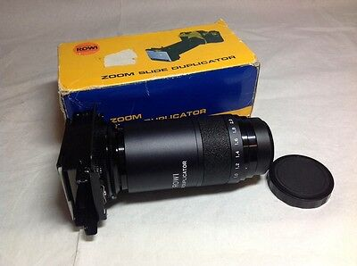 ROWI Zoom Slide Duplicator with T-Mount Boxed