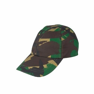 KAS Kids Army Camouflage Cap Woodland - Baseball Hat Cap