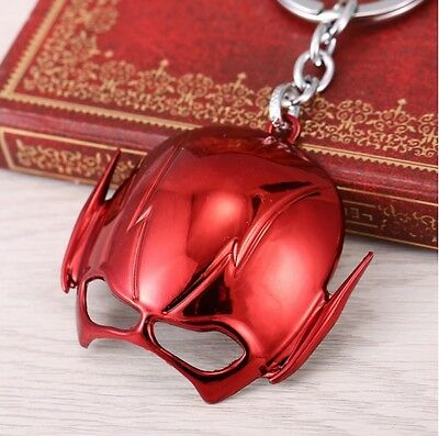 2016 New The Flash Face Mask Red Keychain