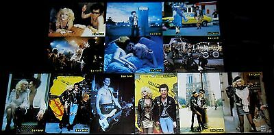 1986 Sid and Nancy ORIGINAL Spain LOBBY CARD SET Alex Cox SEX PISTOLS