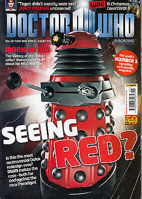 Doctor Who Monthly Issue No.431 Marvel UK 9th March 2011 poster included