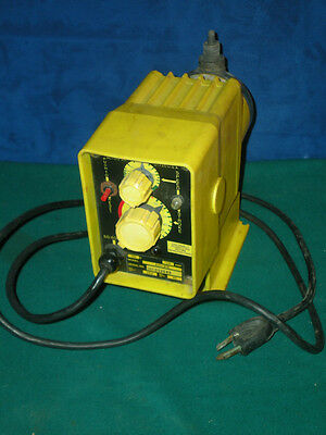 LIQUID METRONICS Metering PUMP A111-91D 80psi 24GPD output 115v Tested WORKS