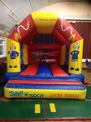 14x12 fireman sam bouncy castle