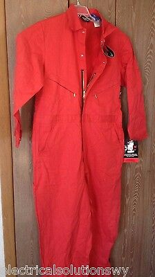 "New wTag RED Walls FR Cotton-Nylon Overall X-Large,Zippers,Pockets,29"" inseam XL"