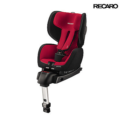 RECARO Germany Optiafix Racing Red Child Seat (9-18 kg) (20-40 lbs)