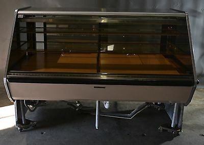 "Used Hussmann ASCMS 74"" Remote Deli Case, Free Shipping!!!"