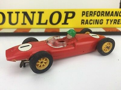 Scalextric Vintage Car C67 With Steering Lotus  F1 Race No 1