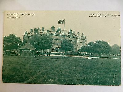 Harrogate Prince of Wales Hotel - Old Yorkshire Postcard