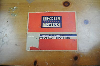 Lionel 60 Lionelvile Rapid Transit Trolley Box Only