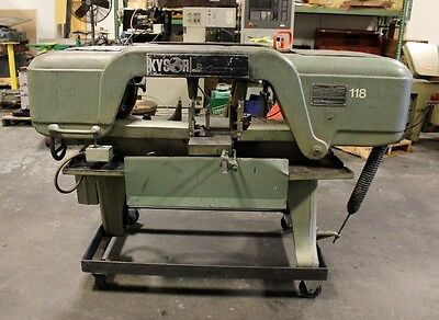 "#J KYSOR JOHNSON 10"" x 18"" Horizontal Band Saw"