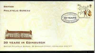 Royal Mail Issue - First Day Cover - 30 Years In Edinburgh