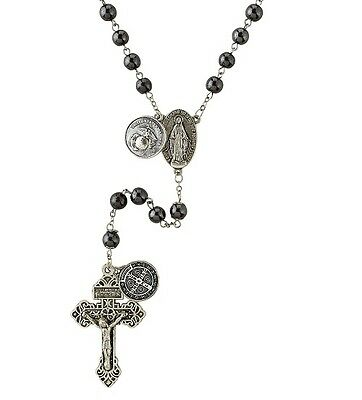 Marines Military Rosary with St. Michael along with 3 prayer cards, magnet, bag