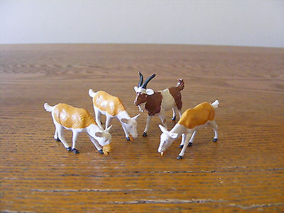 Britain's Farm Animal. Vintage 1980's Goats. Made in England.