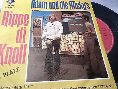 "7"" *Schlager* ADAM & DIE MICKY'S - Ripe di Knoll"