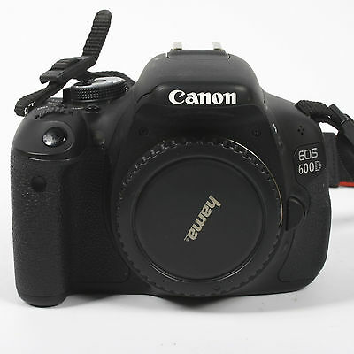 Canon EOS 600D / Rebel T3i 18.0MP Digital SLR Camera Body Only - 4563 actuations