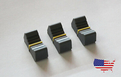 Mixer Slider Fader Caps Knob set 3 Studio Hobby 8mm shaft