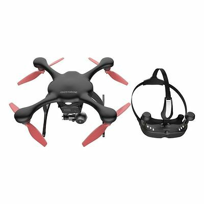 BRAND NEW EHANG Ghost drone 2.0 VR Drone 4k (IOS Compatible) - Black/Orange