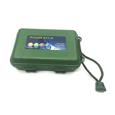 Broadhead Case Box Holder Plastic Arrowhead Protector Portable Foam Pad Green