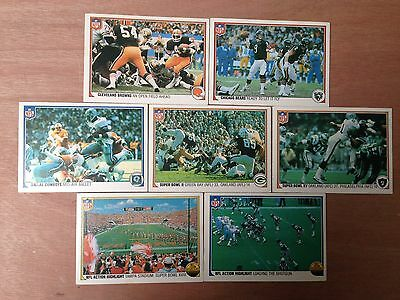 Fleercorp NFL FOOTBALL ACTION 1983 Trading Cards  - Select Your Cards