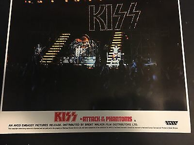 Kiss Attack Of The Phantoms Movie Poster 15x12 Inches