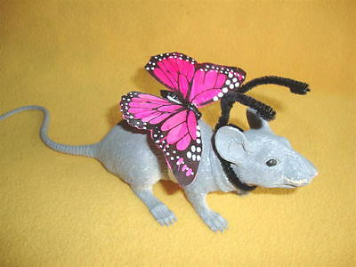 Pink Butterfly Costume Rat from R.A.T.S.