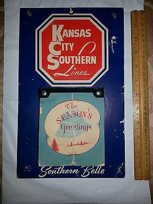 Kansas City Southern Lines Railroad Calendar-  Year's Tear-off Pad Complete